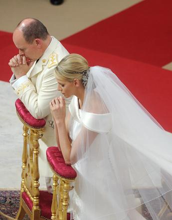 Принц Альберт II и его невеста Шарлин Уиттсток
