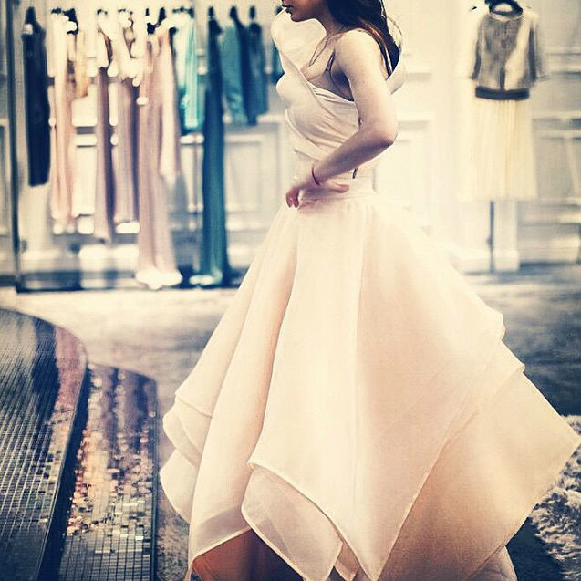 Свадебное платье Виктории Дайнеко фото