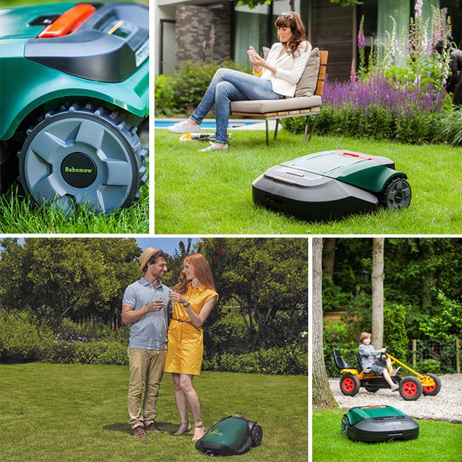 Волгоград, робот, газон, дача, газонокосилка, лето, робот-газонокосилка, как легко скосить газон, Robomow