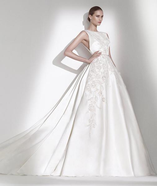 60 пышных свадебных платьев 2015 | галерея [1] фото [47]
