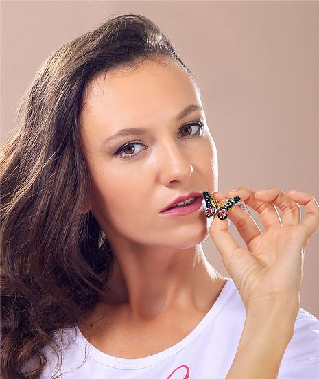 Мария Бородачева, участница конкурса «Мисс Мегаполис», фото