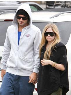 Аврил Лавин (Avrile Lavigne) и Броди Дженнер (Brody Jenner)