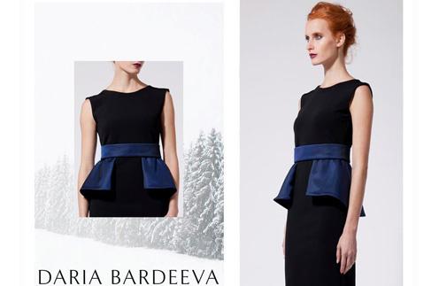 В интернет-магазине дизайнера Daria Bardeeva представлена ограниченная линия платьев для вечеринок