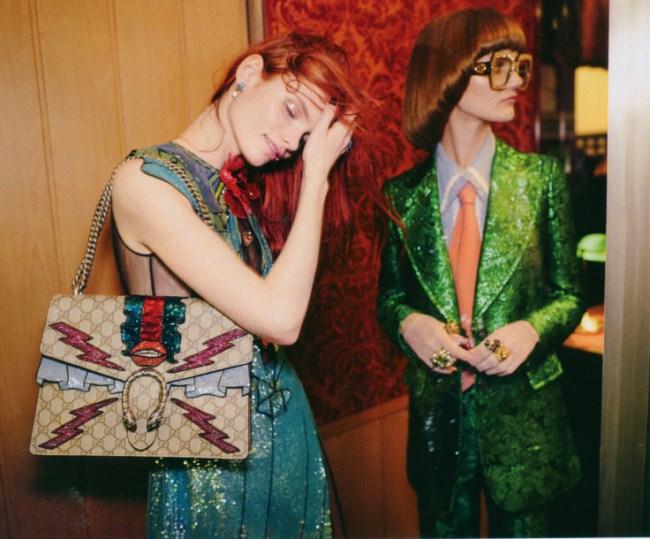 коллекция Gucci весна-лето 2016
