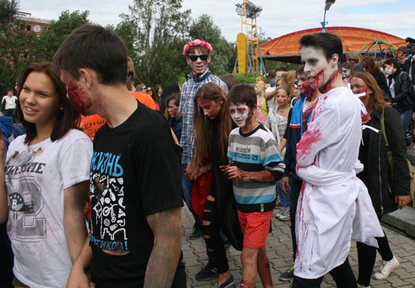 Парад зомби