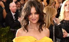 Кэти Холмс совершила модный провал на Met Gala 2014