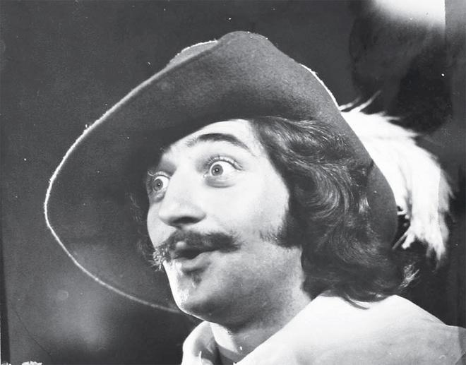Виссарион Какабадзе – д'Артаньян.