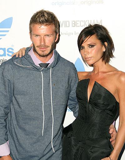 Дэвид (David Beckham) и Виктория Бекхэм (Victoria Beckham)