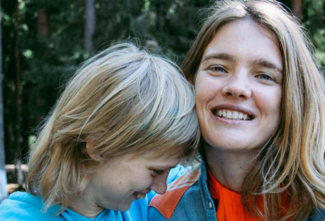 Наталья Водянова с сестрой фото