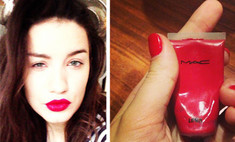 Виктория Дайнеко раскрыла секрет алых губ