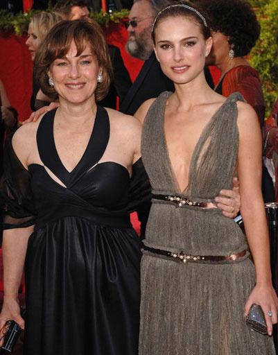 Натали Портман (Natalie Portman) с мамой