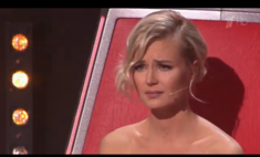 Гагарина расплакалась, впервые выгоняя участника «Голоса»