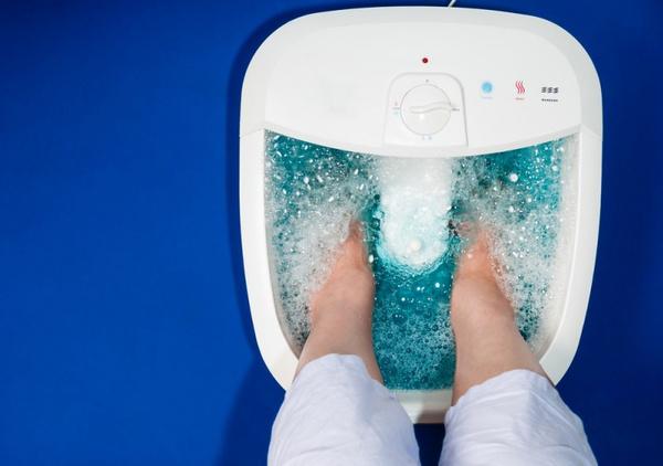 Основы массажа ног при помощи массажера