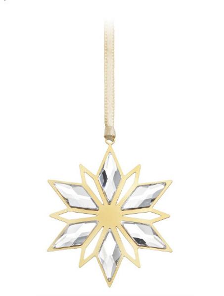 Елочное украшение Golden Star, Swarovski, магазины Swarovski