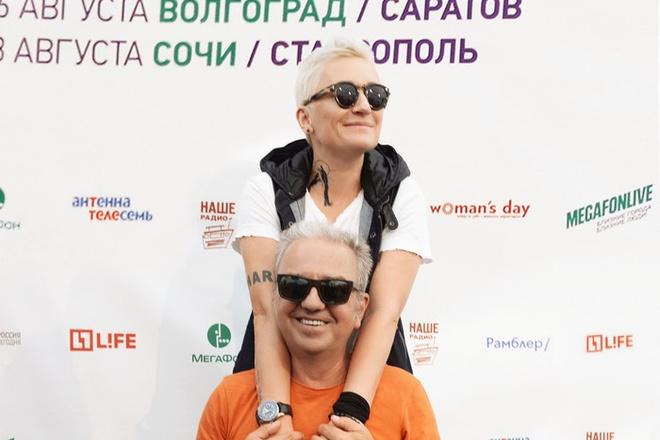 """Диана Арбенина и """"Чайф"""" фото"""