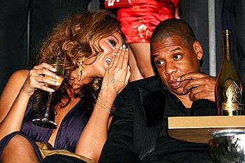 Бейонс, Jay-Z и шампанское «Cristal»