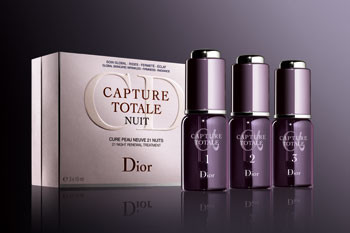 Курс сывороток Dior Une Cure Peau Neuve 21 Nuits