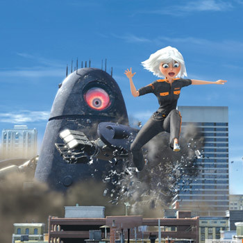 Кадр из фильма «Монстры против пришельцев»