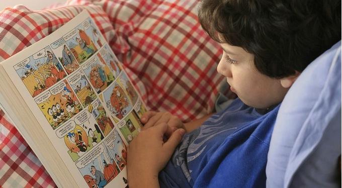 Книжка с картинками: как учить английский по комиксам