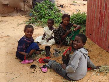 Сомалийские дети