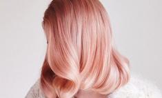 Осенний тренд: модное окрашивание розовое золото