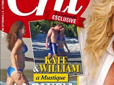 Кейт Миддлтон в бикини