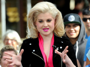 Келли Осборн (Kelly Osbourne) критикует Кристину Агилеру за лишний вес
