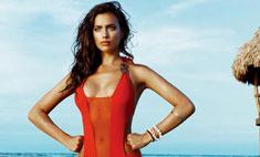 Ирина Шейк снялась в рекламе авторских купальников