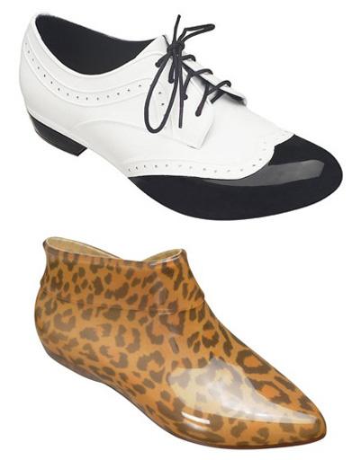 Пластиковая обувь Melissa + Alexandre Herchcovich