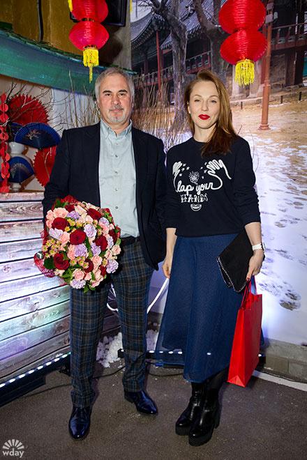 Валерий Меладзе и Альбина Джанабаева: фото