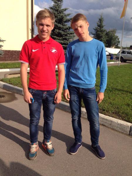 Олег и Роман Ивановы, близнецы Тулы