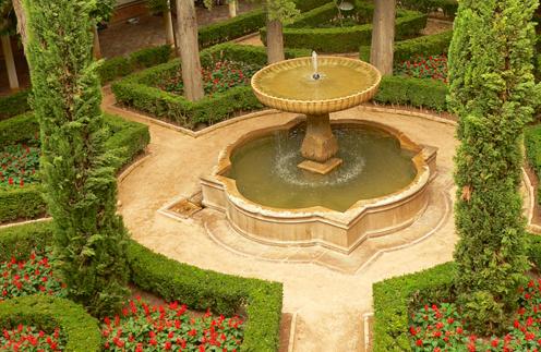 мавританский сад, мавританский газон, розы, восточный стиль, арабский стиль, ландшафтный дизайн, модный тренд, садовые тенденции, сад 2011, стиль, советы дизайнеров