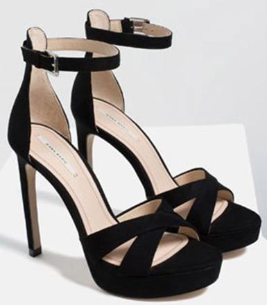 Босоножки на каблуках Zara, фото