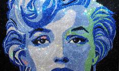 Рианна показала портрет Мэрилин Монро