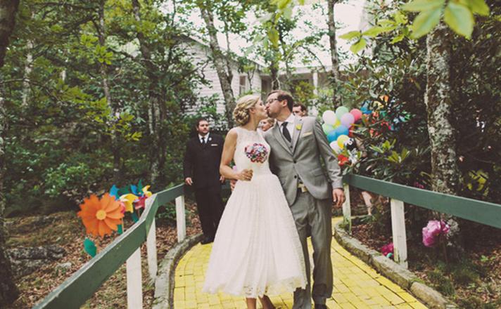 Свадьба в стиле Волшебник Изумрудного города фото