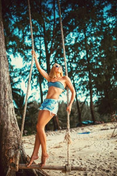 Елена Серова, фитнес-бикини модель, г. Красноярск