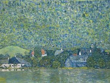 «Литцлберг на озере Аттерзее» Густава Климта