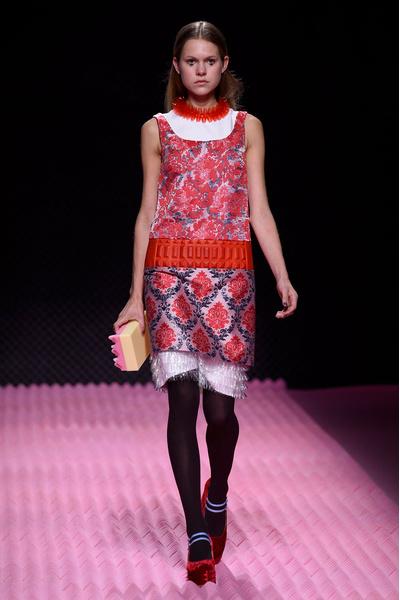 Показ Mary Katrantzou на Неделе моды в Лондоне | галерея [1] фото [24]