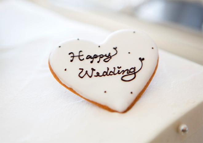 Надписи на свадебном торте