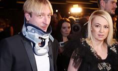 Плющенко пришел на премьеру, несмотря на плохое самочувствие
