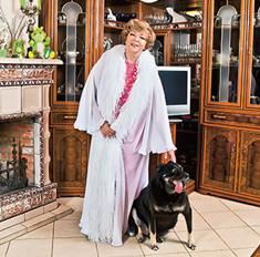Эдита Пьеха: «Я дикая, в доме нечасто бывают гости»