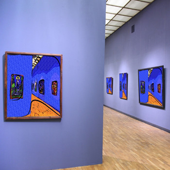 Художник Макс Эрнст с увлечением исследовал бессознательное, используя самые разные живописные техники.