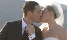 Кейт Босуорт показала свадебное платье