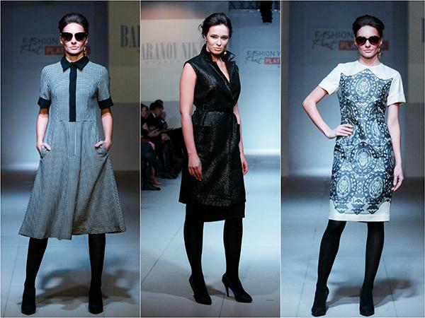 Модели Никиты Баранова, платья
