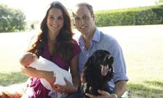В сети появились первые официальные фото принца Джорджа