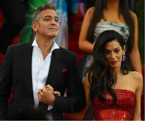 Джордж Клуни и его супруга Амаль