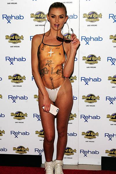Лала Кент в самом уродливом купальнике в мире