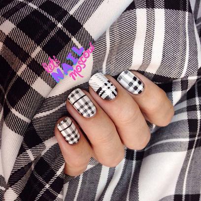 рисунки лаком на ногтях фото