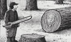 22 душевные карикатуры с налетом черного юмора от Гарри Блисса