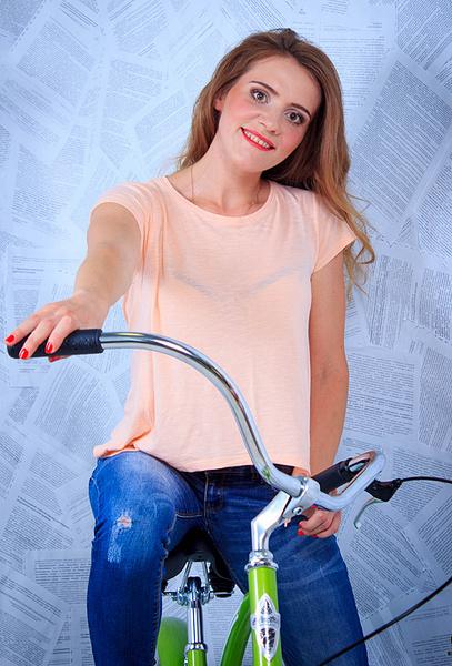Юлия Трофимова, участница «Мисс велогород-2016», фото